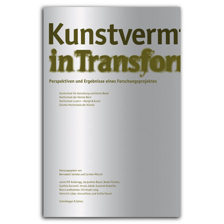 Kunstvermittlung in Transformation
